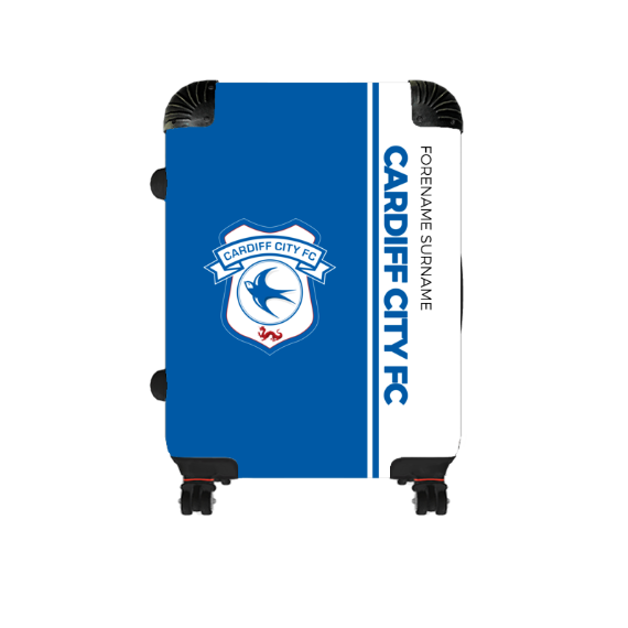 Cardiff City FC Crest Cabin Suitcase