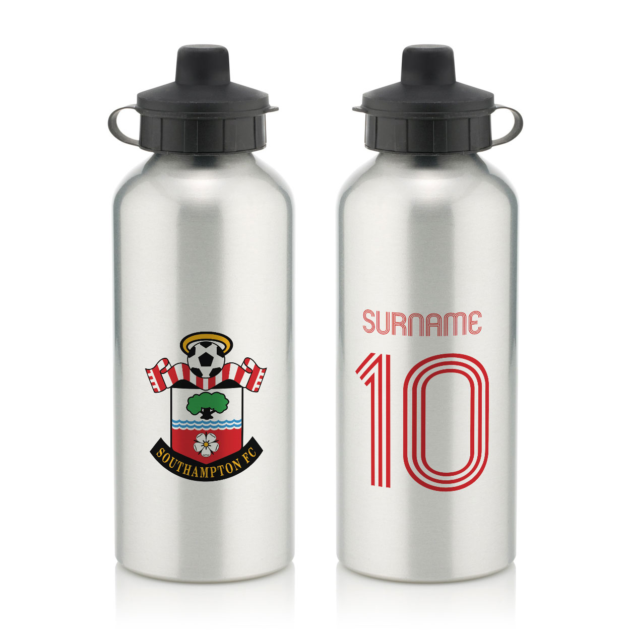 Southampton FC Retro Shirt Water Bottle