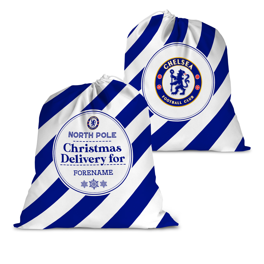 Chelsea FC Christmas Delivery Santa Sack