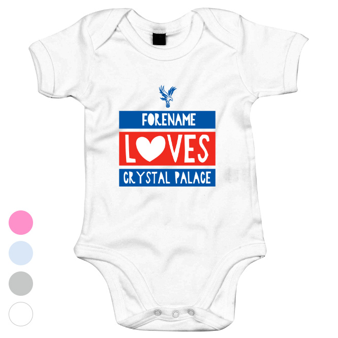 Crystal Palace Loves Baby Bodysuit