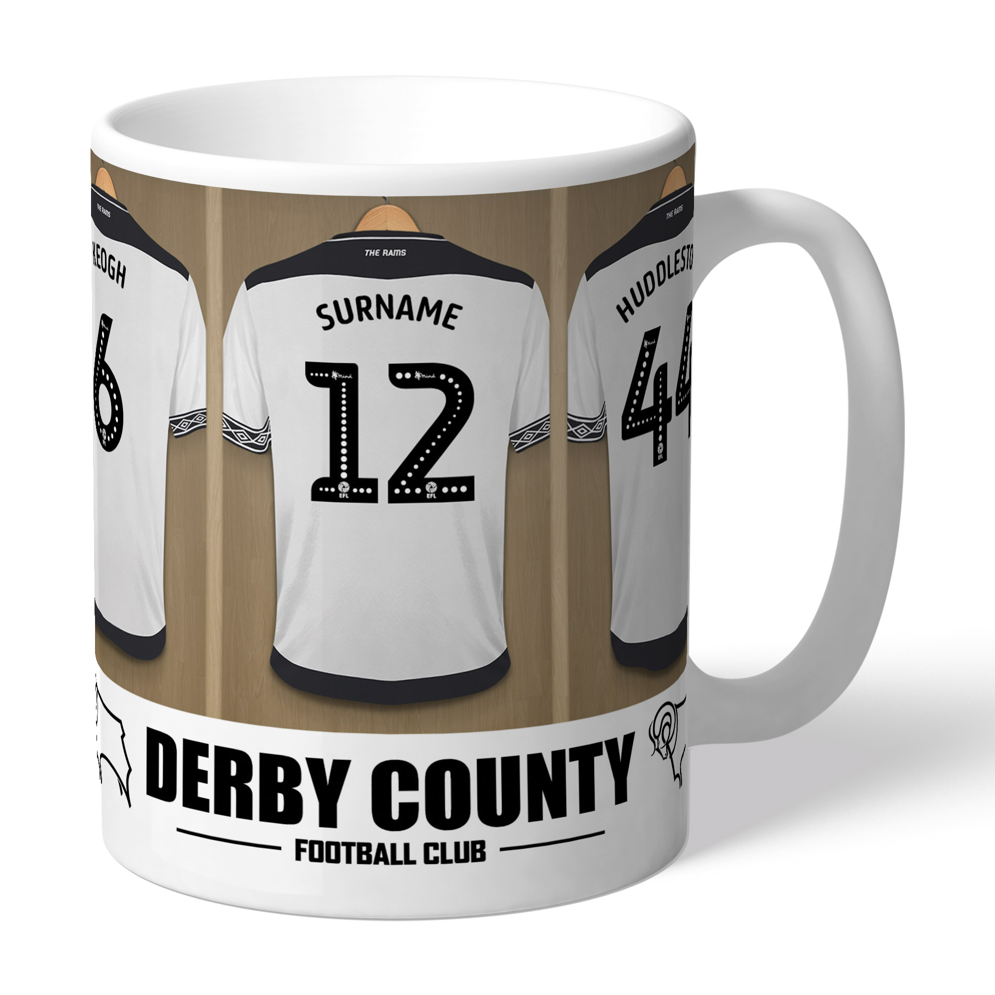 Derby County Dressing Room Mug