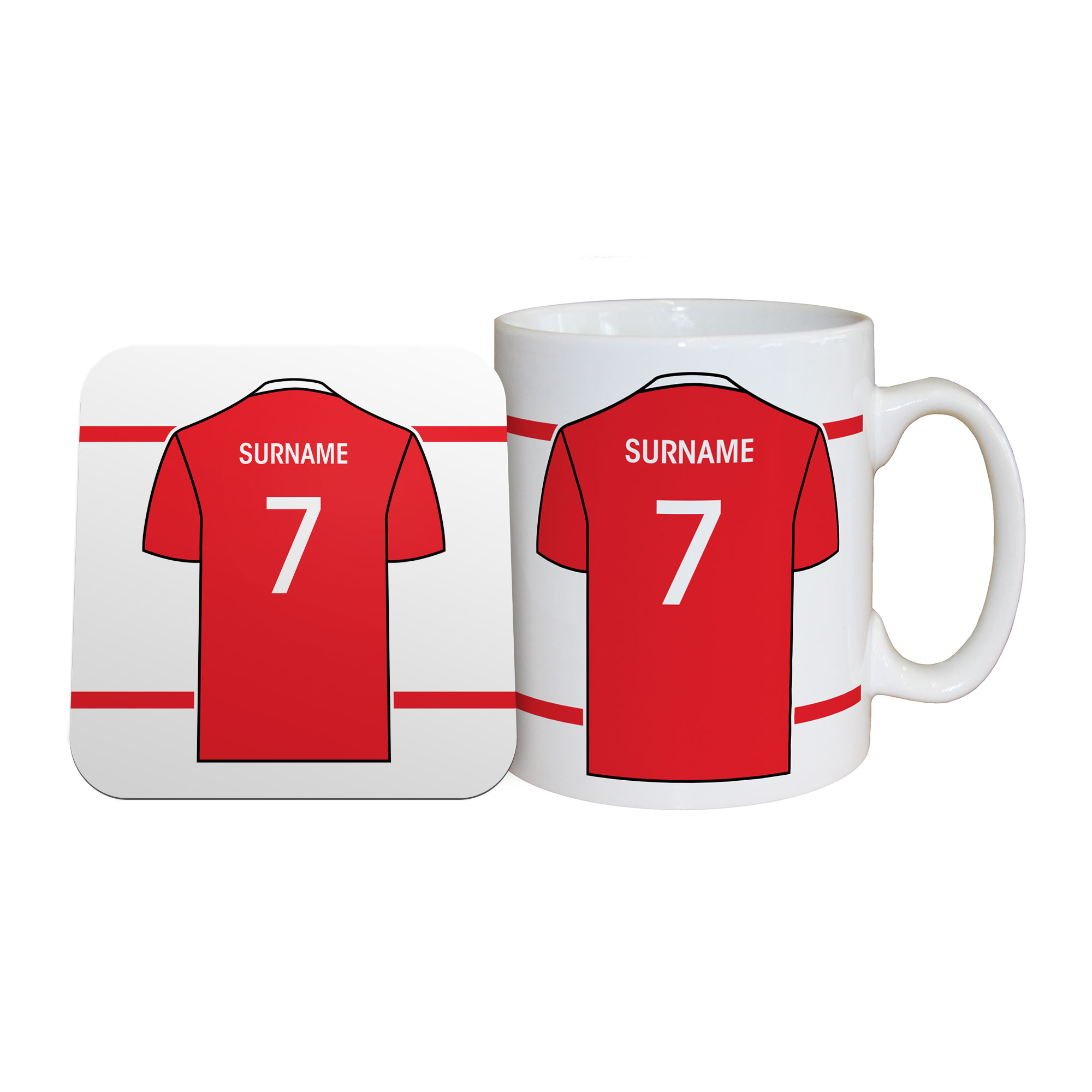 Frodsham JFC Shirt Mug & Coaster Set