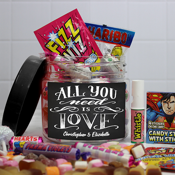All You Need Is Love Sweet Jar - Taster