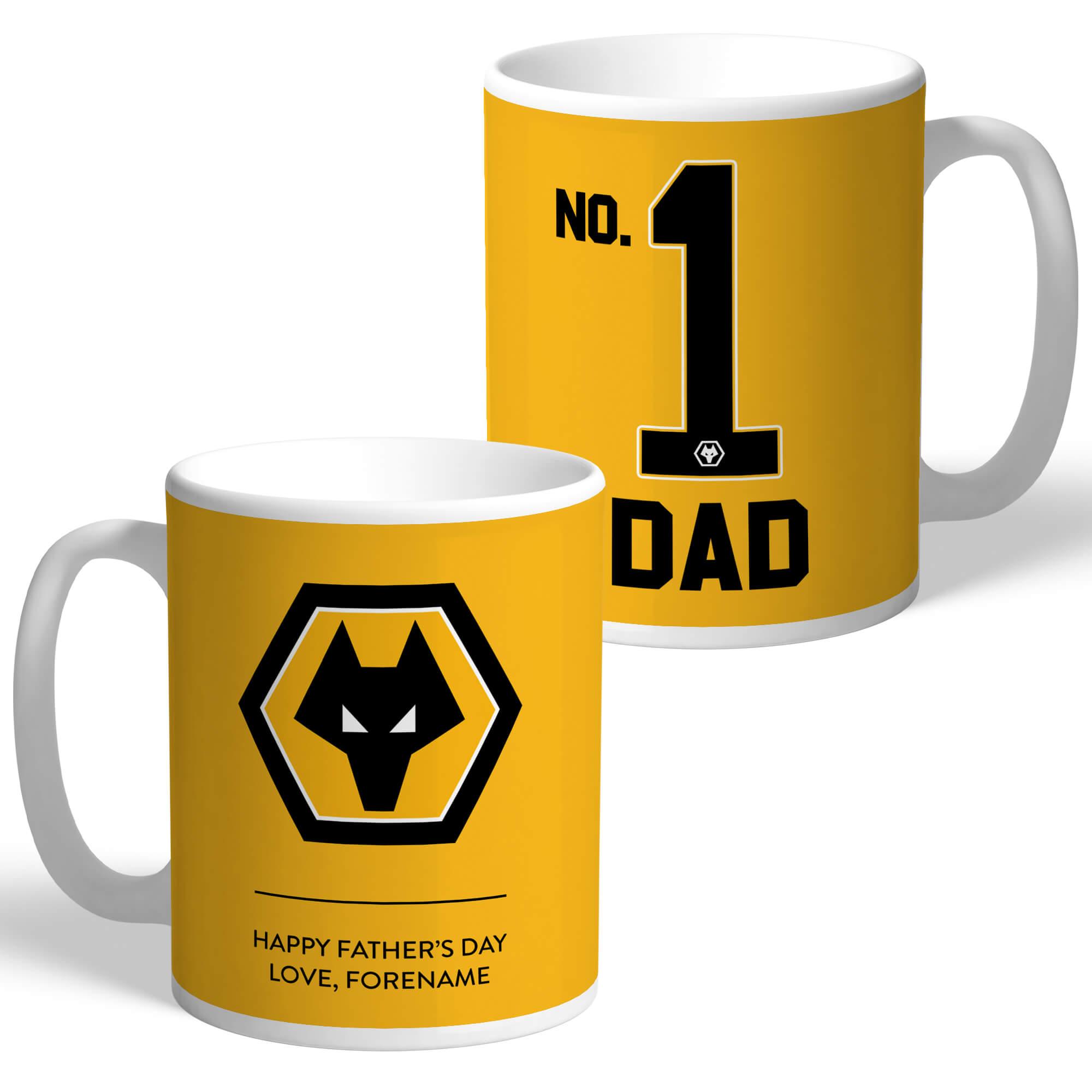 Wolverhampton Wanderers FC No.1 Dad Mug