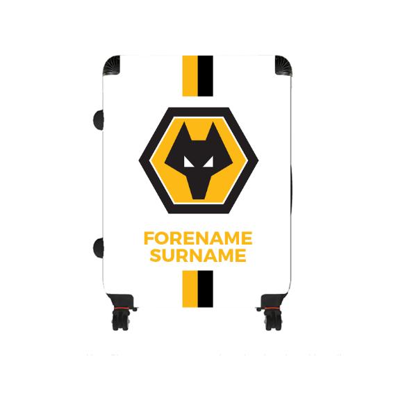 Wolverhampton Wanderers FC Stripe Large Suitcase