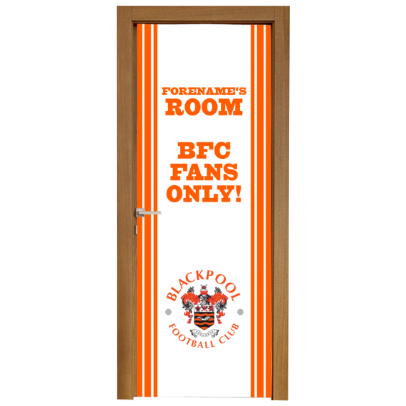 Blackpool Stripe Door Banner