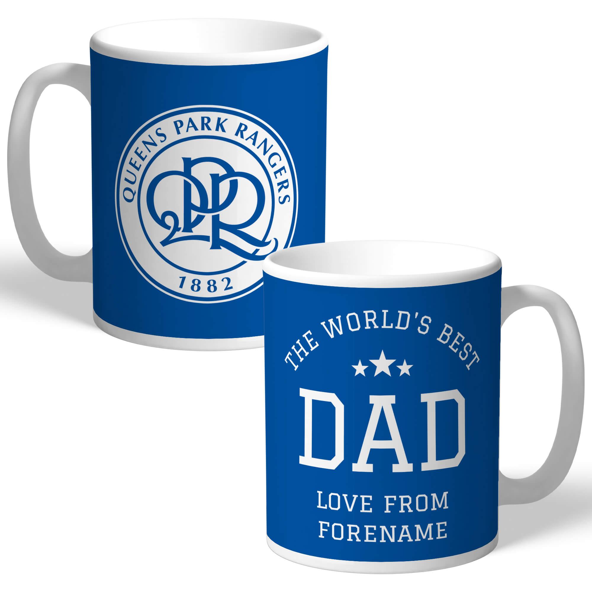 Queens Park Rangers FC World's Best Dad Mug