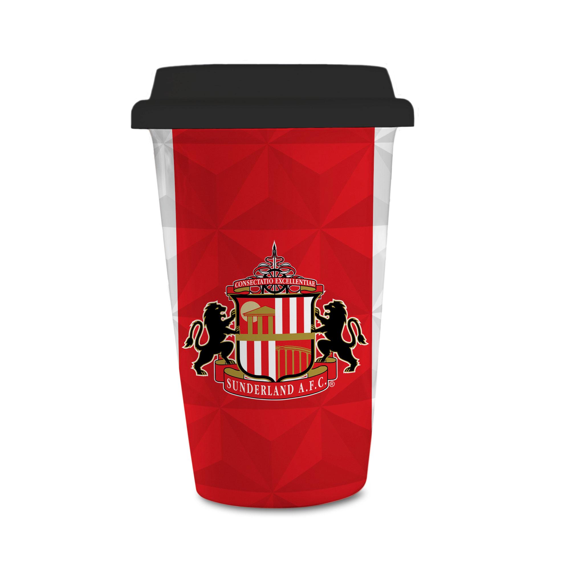 Sunderland AFC Crest Reusable Cup