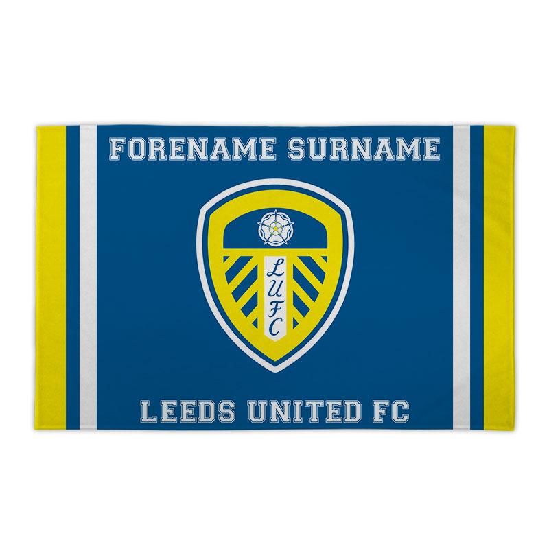 Leeds United FC Crest 8ft x 5ft Banner