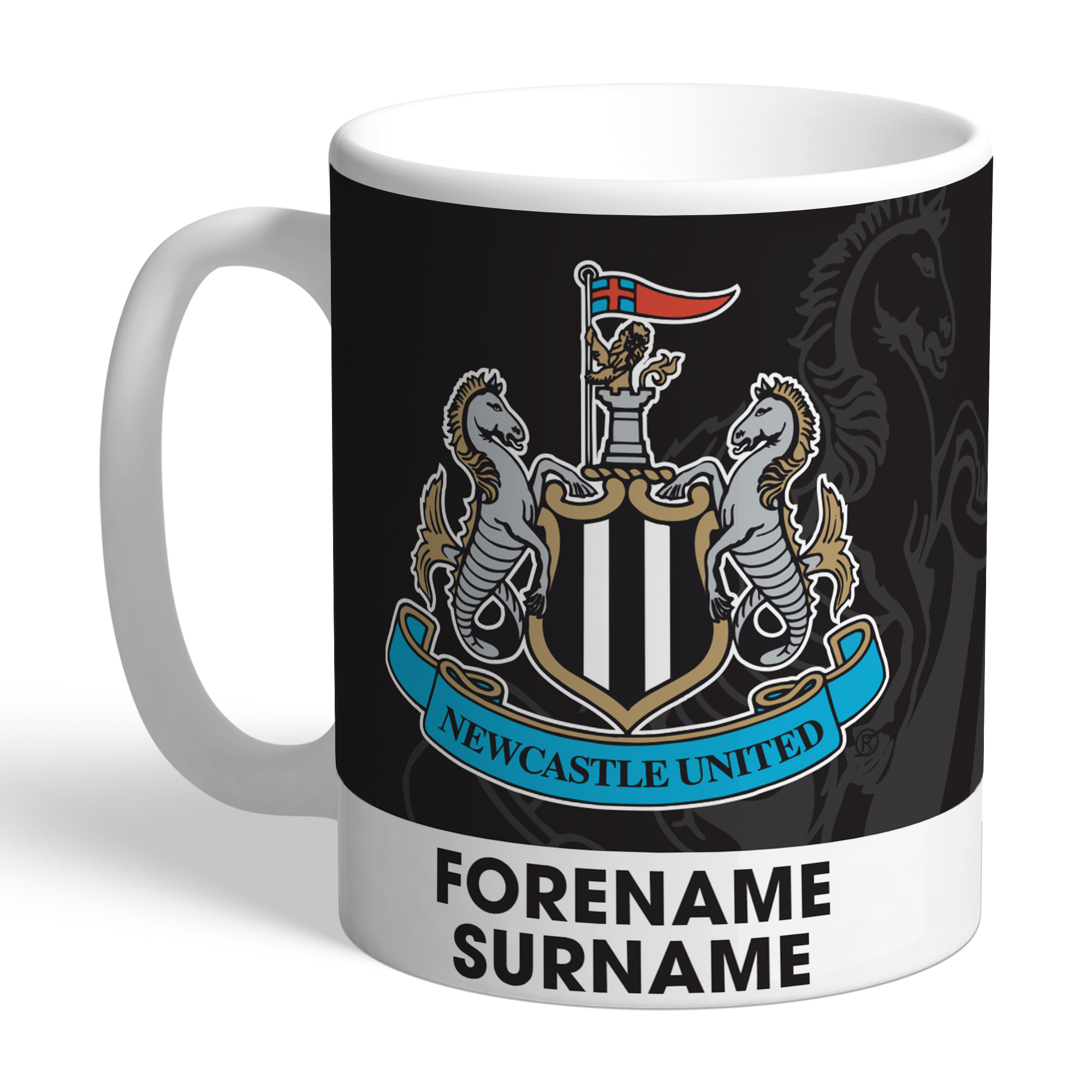 Newcastle United FC Bold Crest Mug