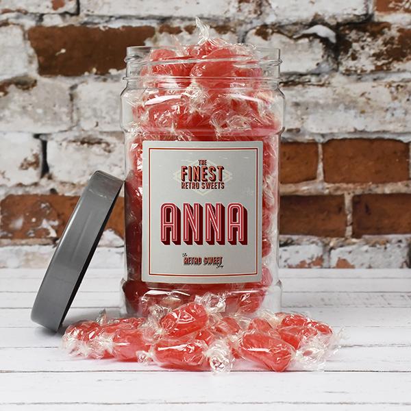 Aniseed Twists Sweet Jar