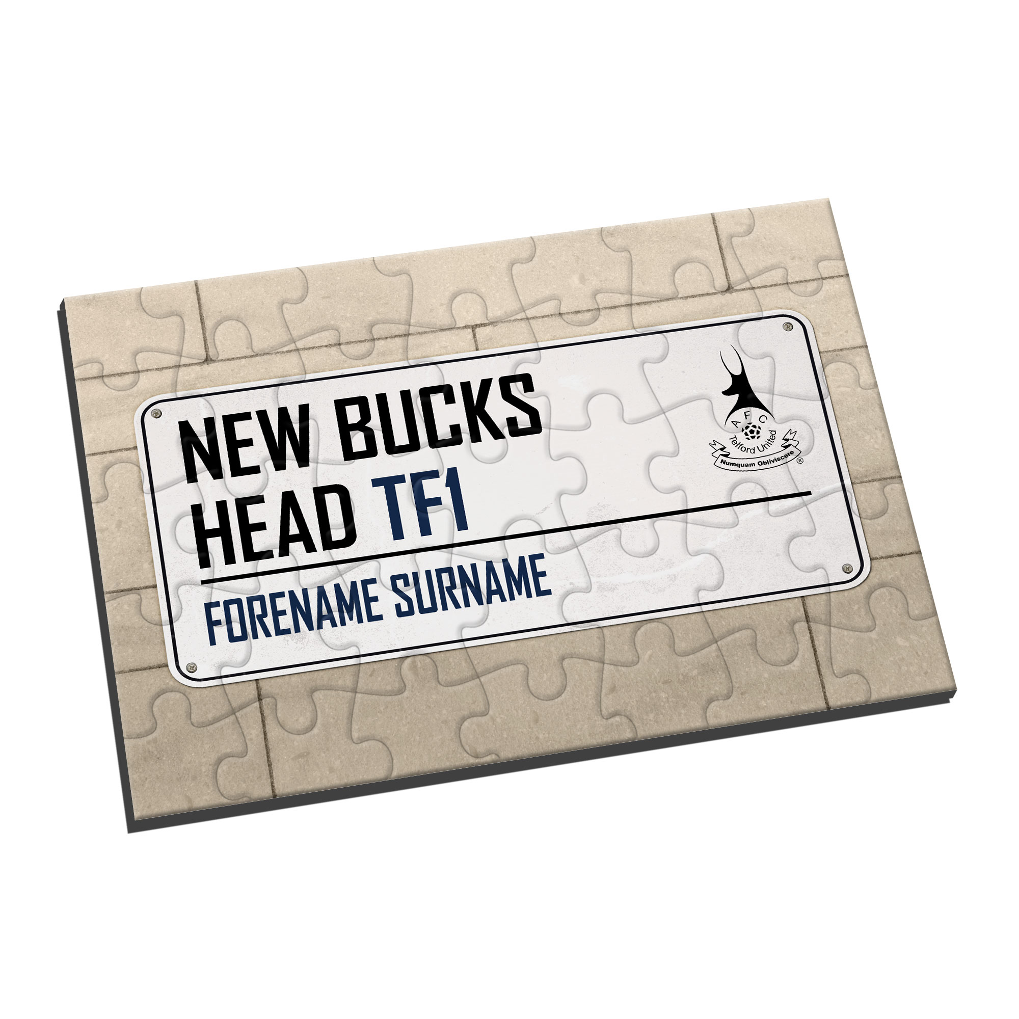 AFC Telford United Street Sign Jigsaw