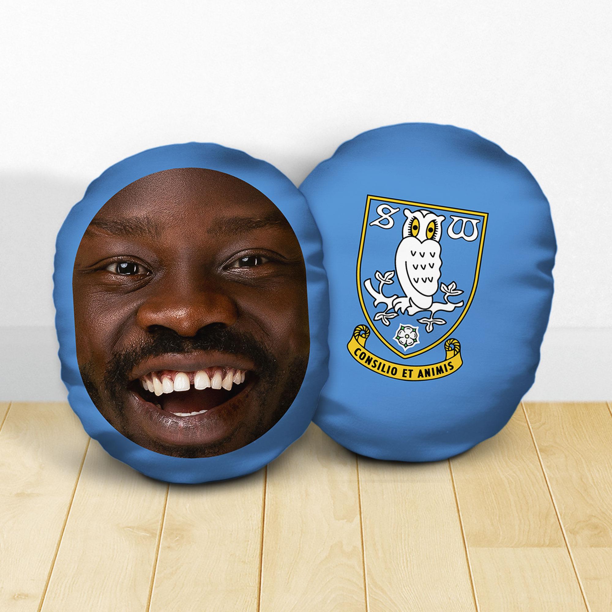 Personalised Sheffield Wednesday FC Crest Mush Cush