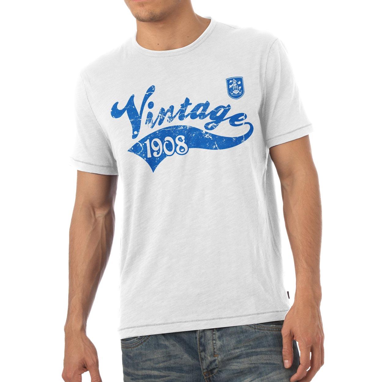 Huddersfield Town Mens Vintage T-Shirt
