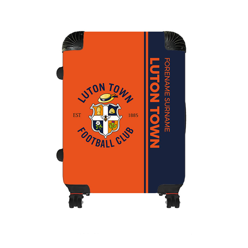 Luton Town FC Crest Medium Suitcase