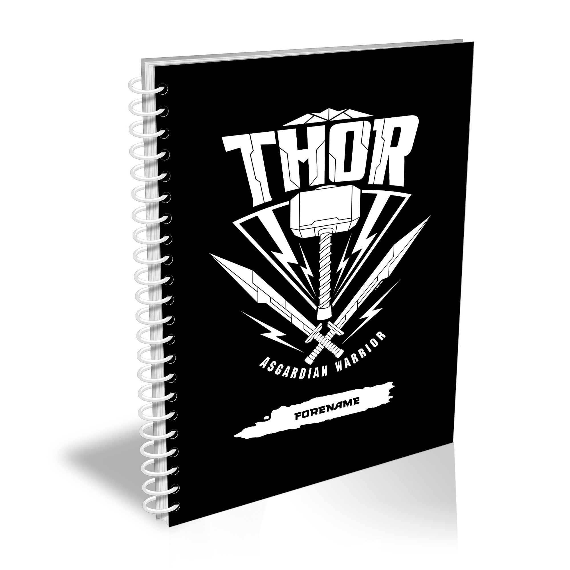 Marvel Thor Ragnarok Thor Badge A5 Notebook