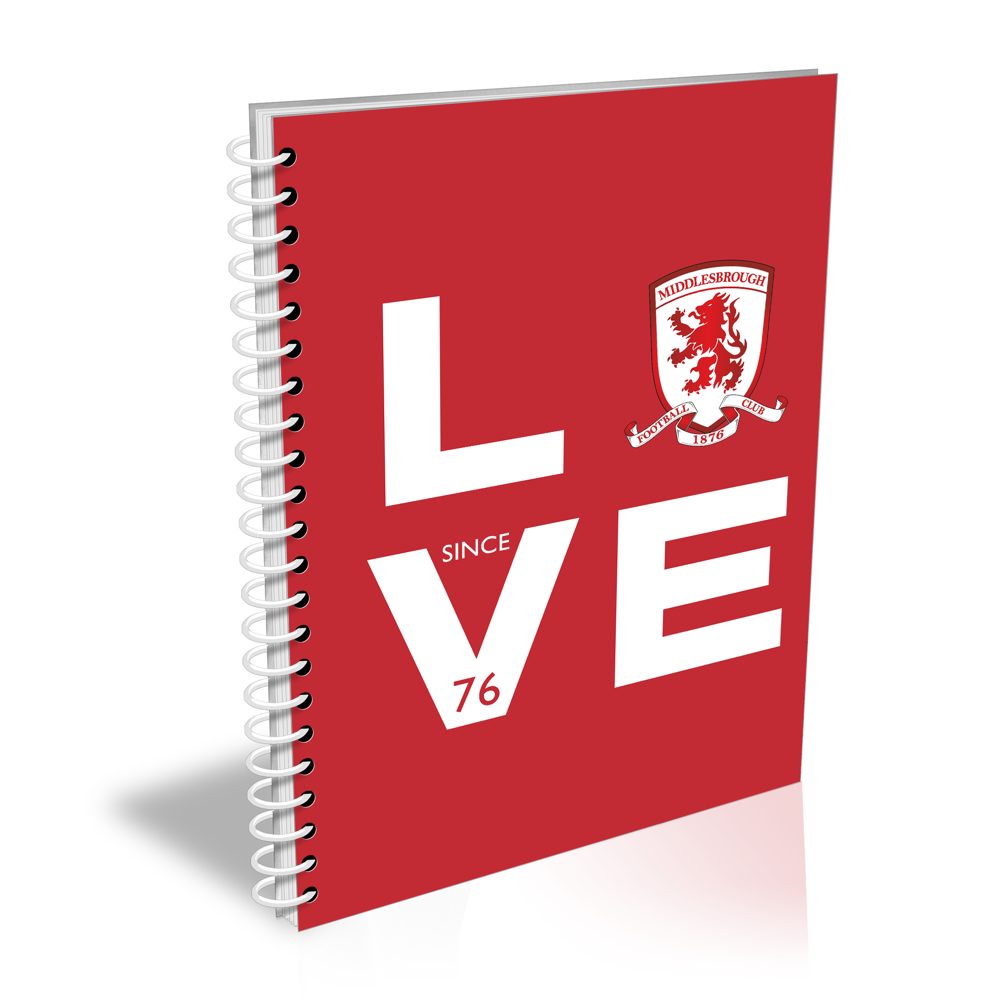 Middlesbrough Love Notebook
