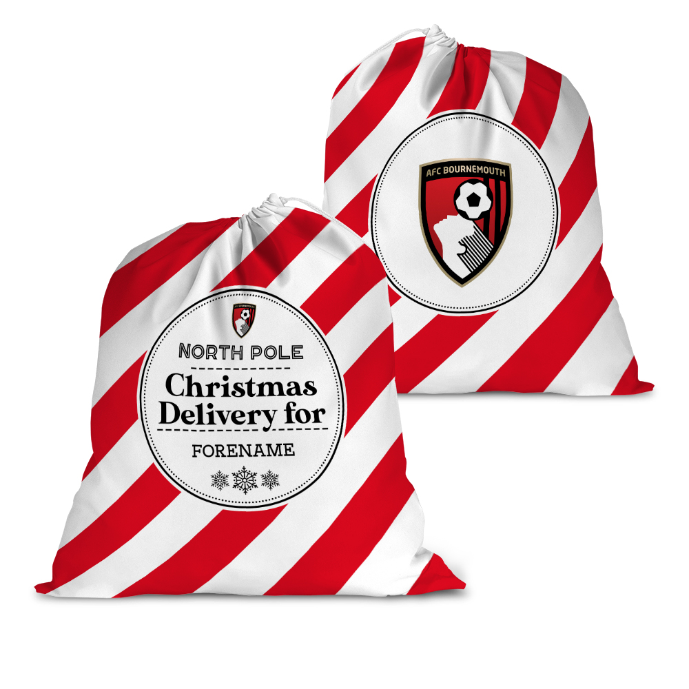 AFC Bournemouth Christmas Delivery Santa Sack