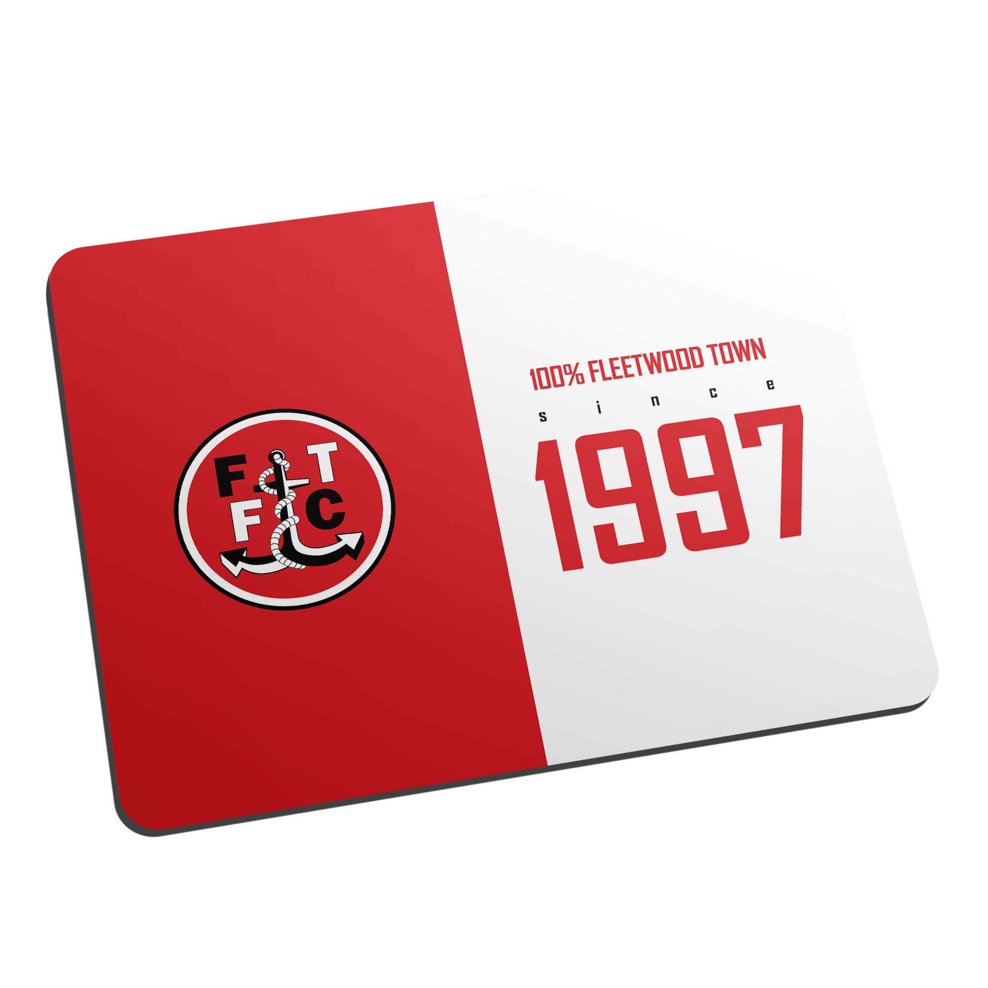 Fleetwood Town FC 100 Percent Mouse Mat