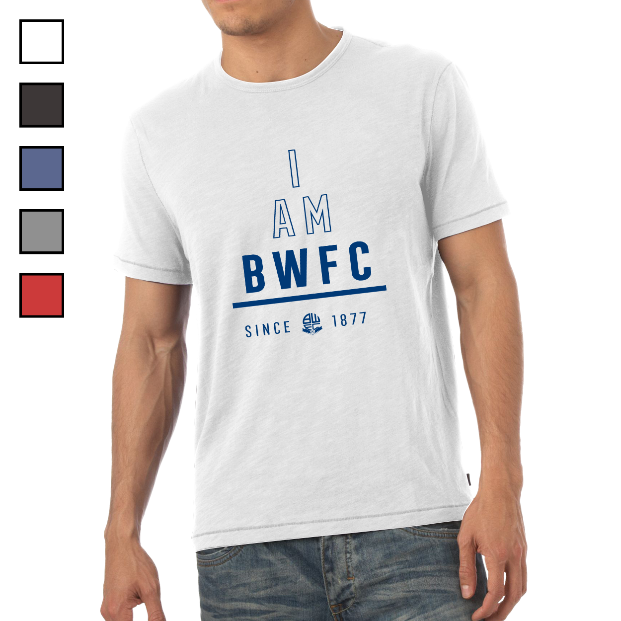 Bolton Wanderers I Am Mens T-Shirt