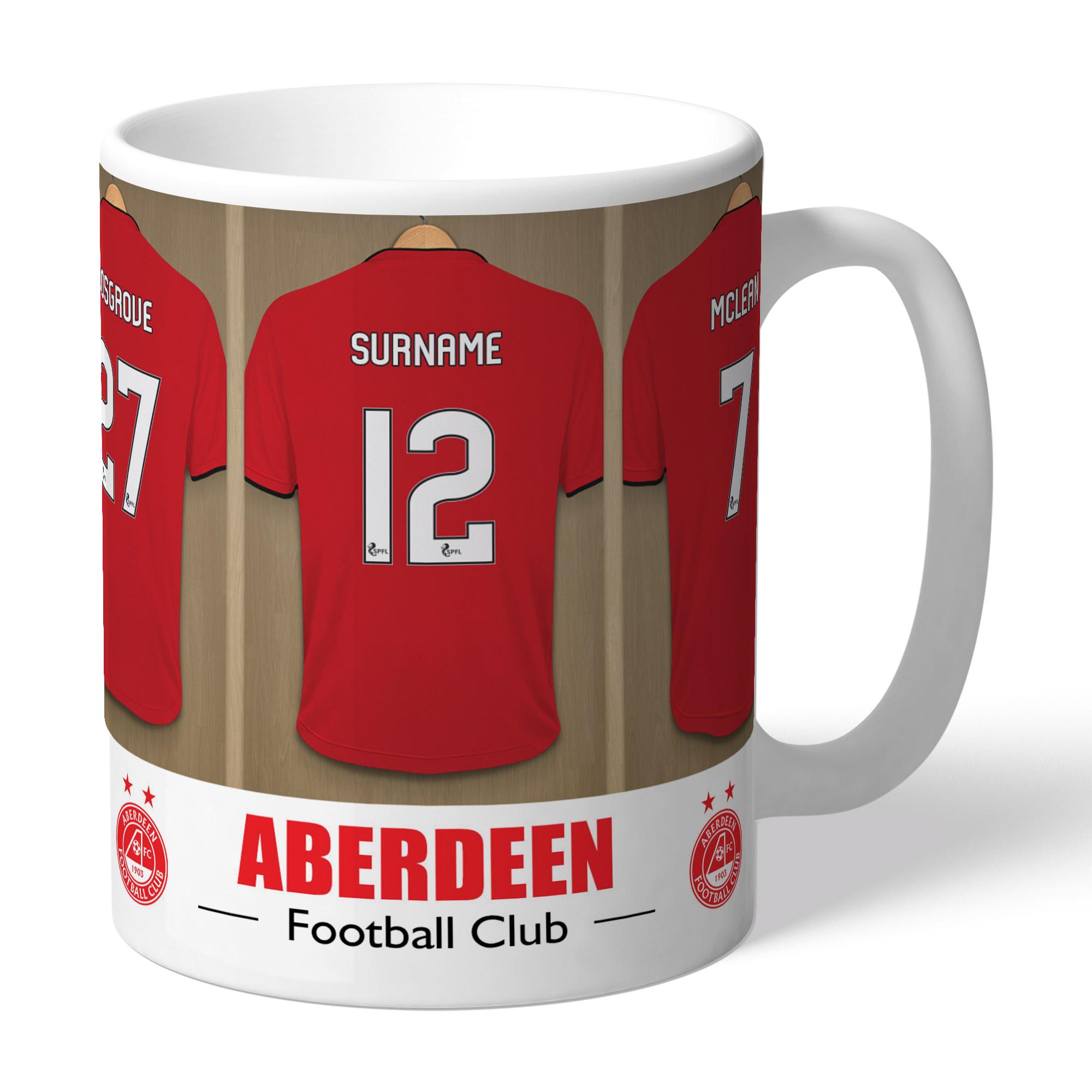 Aberdeen FC Dressing Room Mug
