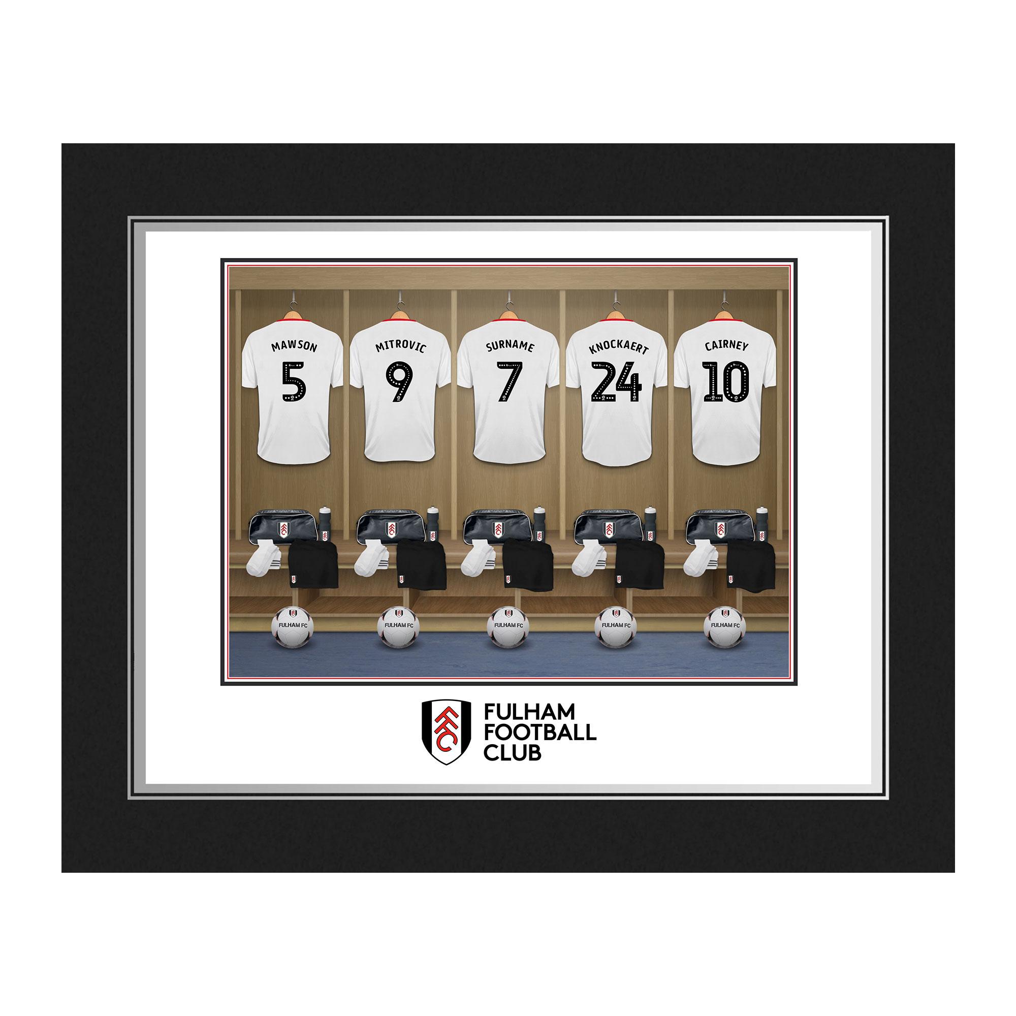 Fulham FC Dressing Room Photo Folder