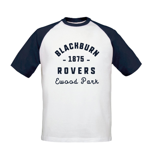 Blackburn Rovers FC Stadium Vintage Baseball T-Shirt