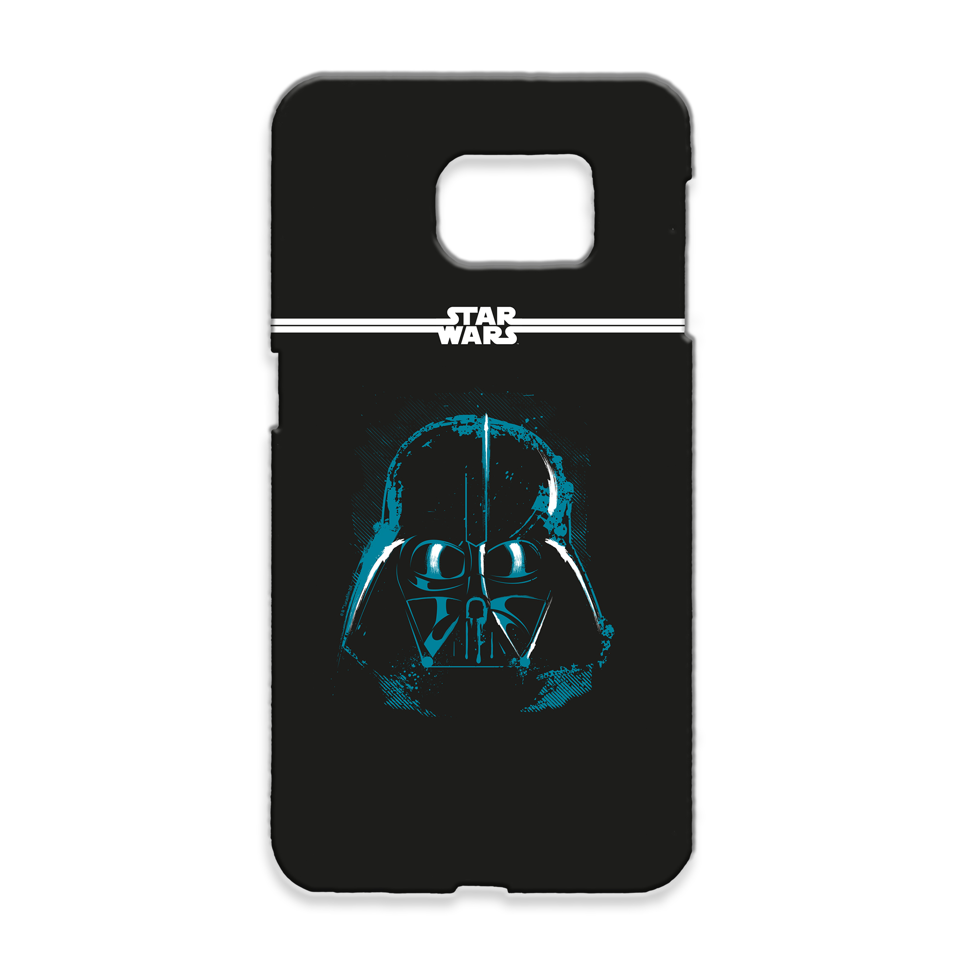 Star Wars Darth Vader Paint Samsung Phone Case