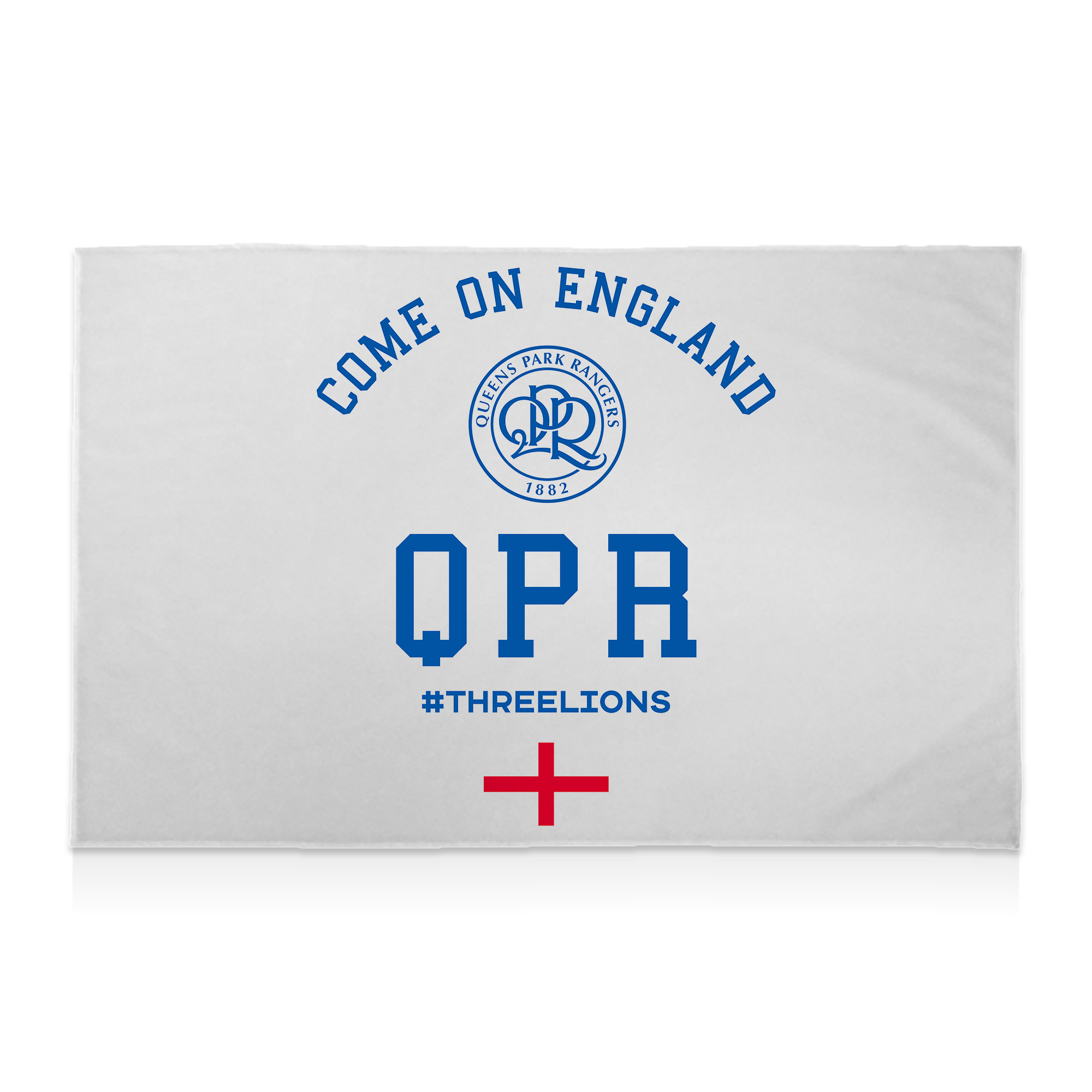Queens Park Rangers FC Come On England 8ft x 5ft Banner