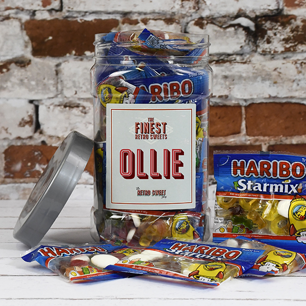 Haribo Star Mix Sweet Jar