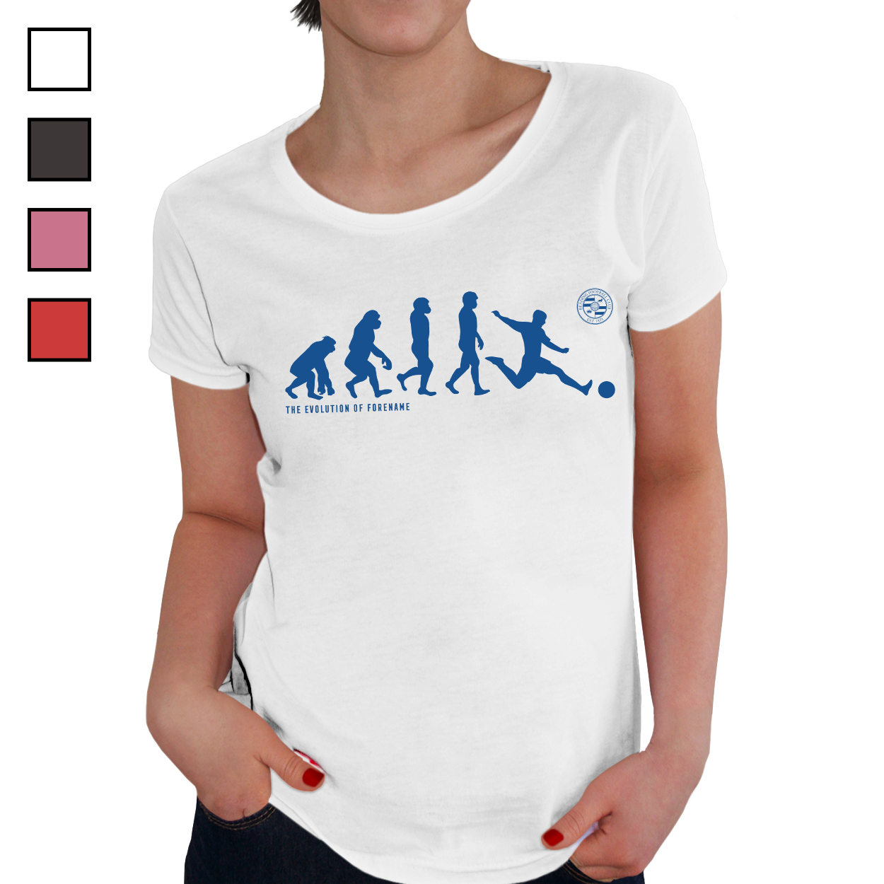 Reading FC Evolution Ladies T-Shirt