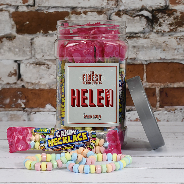 Candy Necklaces Sweet Jar