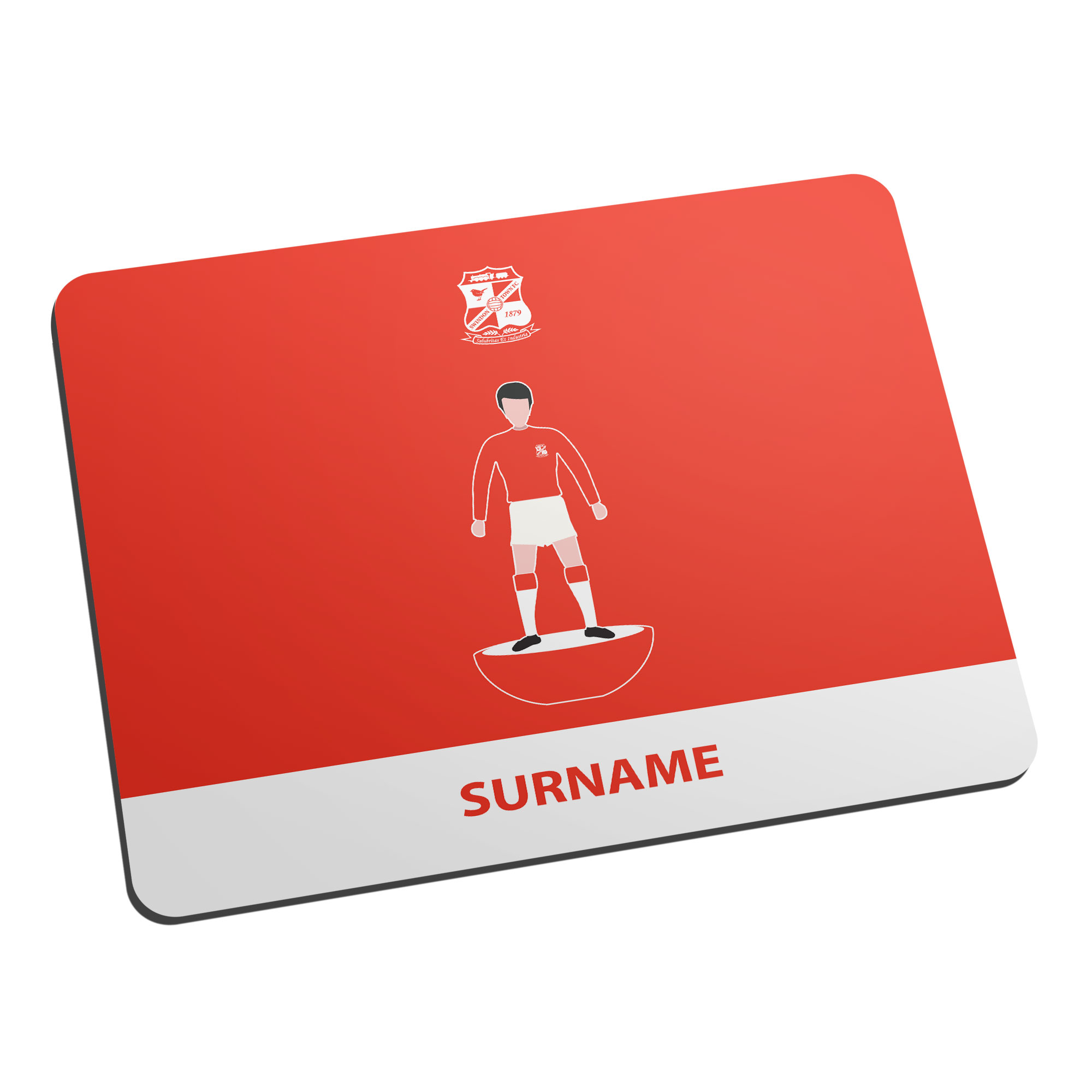 Swindon Town Player Figure Mouse Mat