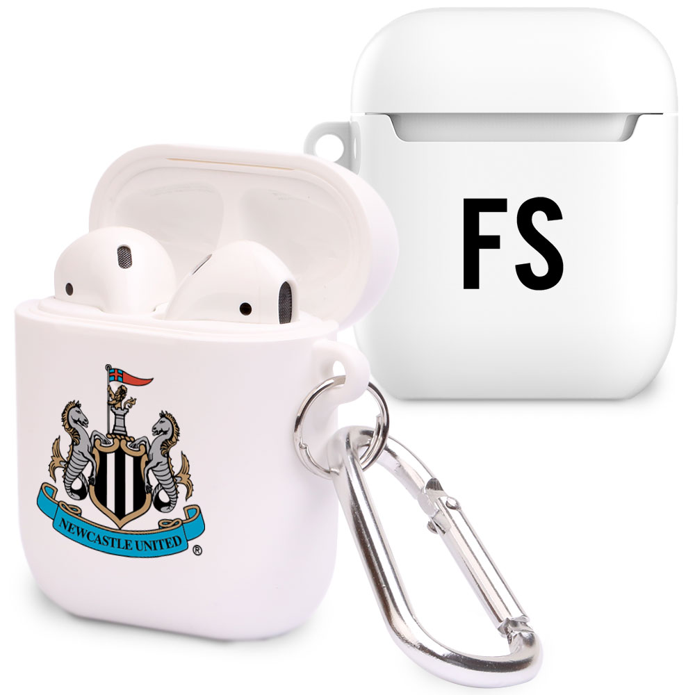 Newcastle United FC Initials Airpod Case
