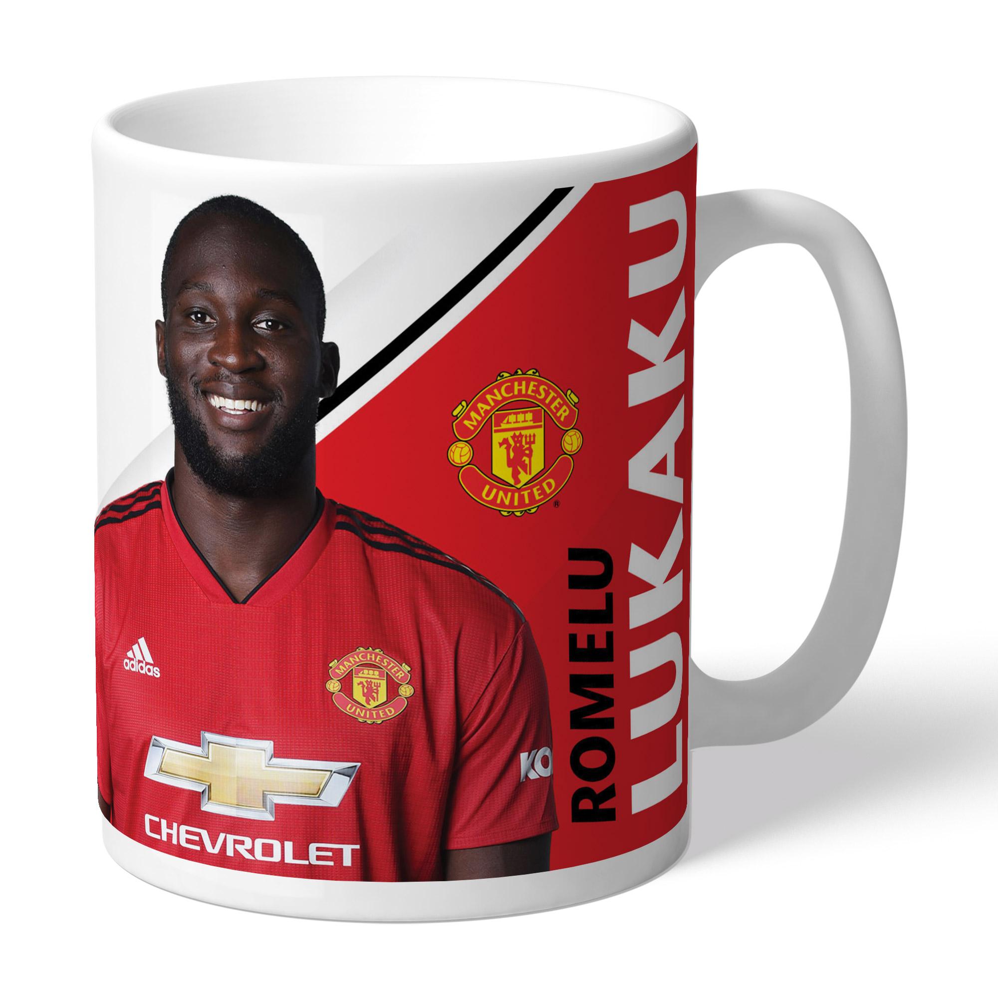 Manchester United FC Lukaku Autograph Mug