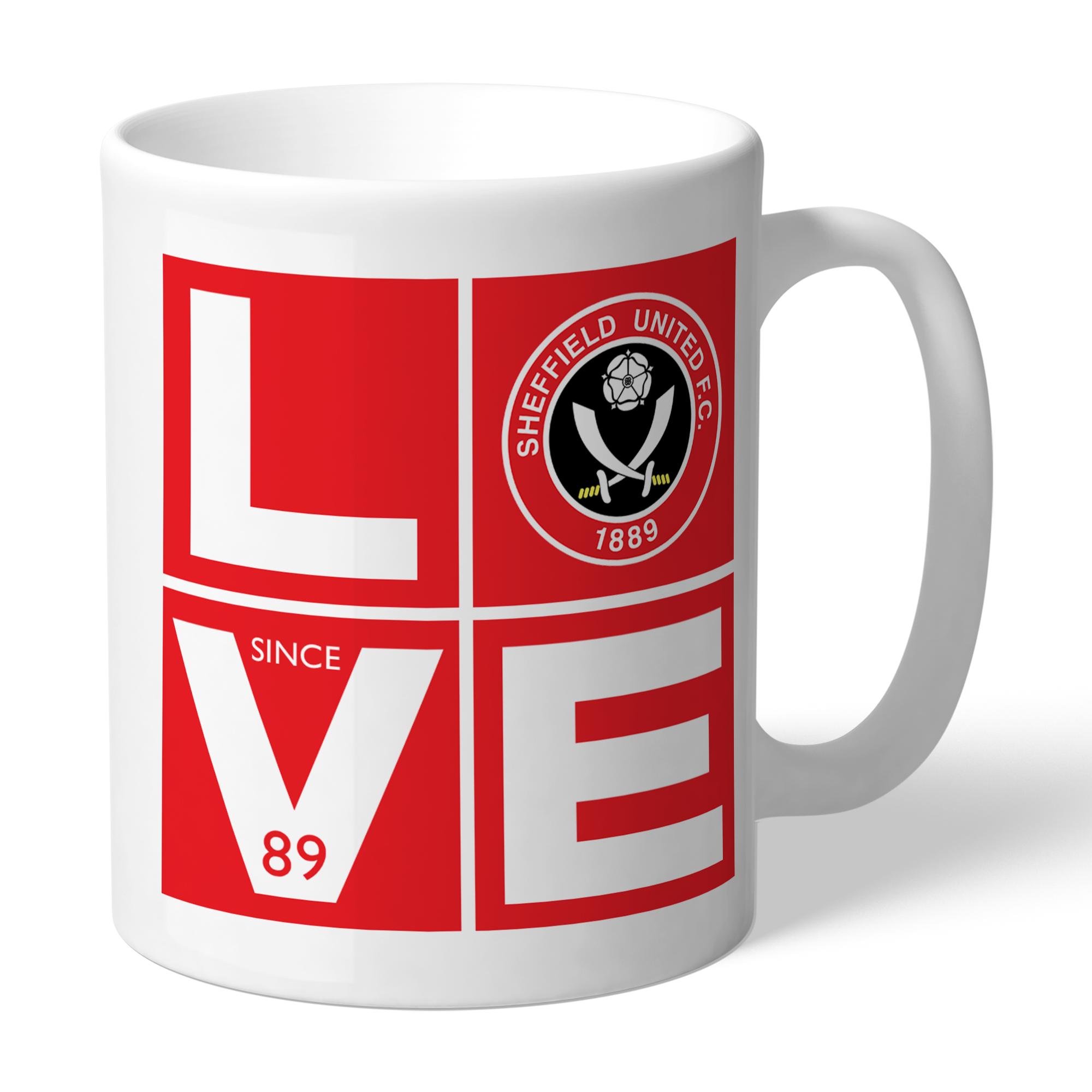 Sheffield United Love Mug