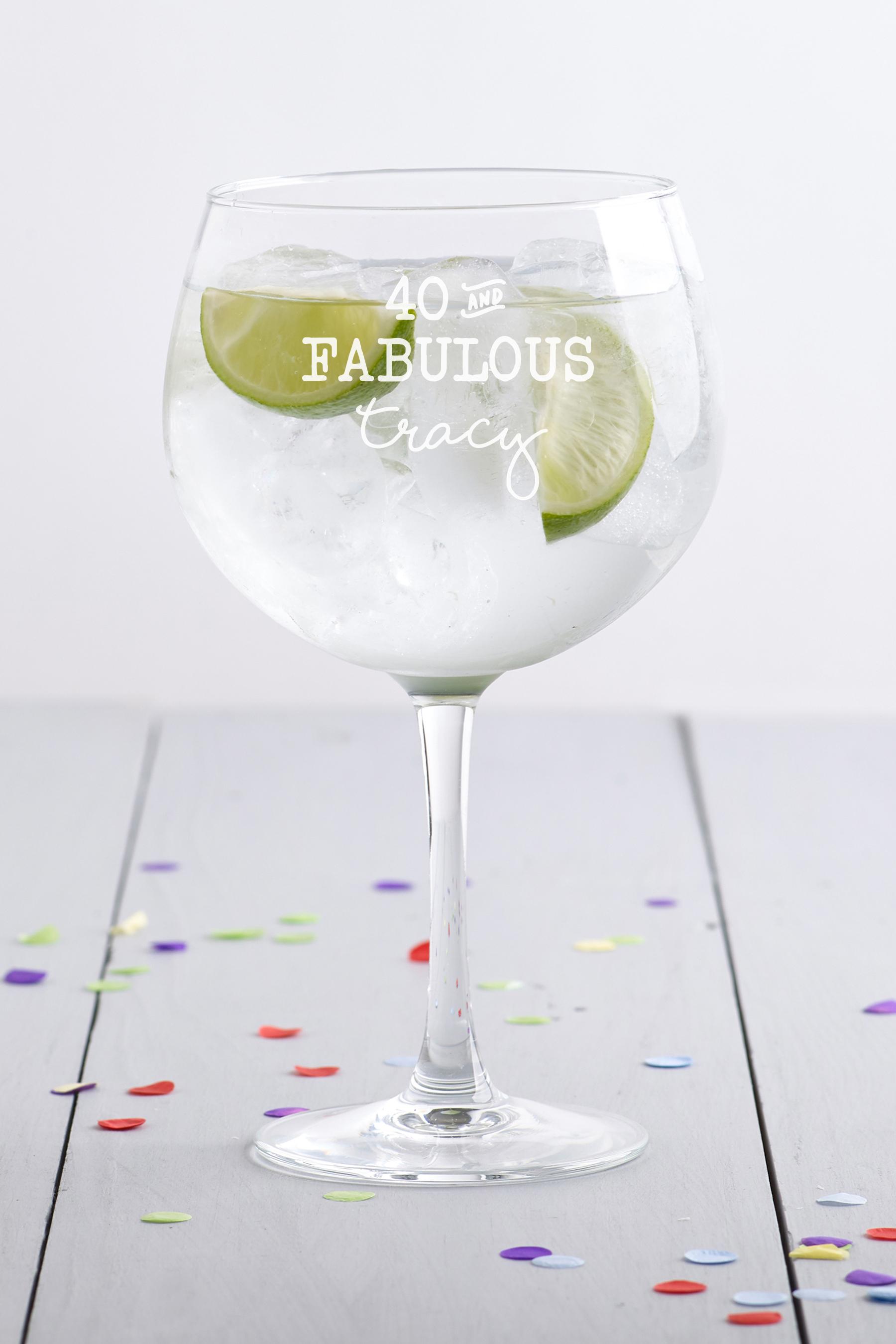 Fabulous Gin Balloon Glass