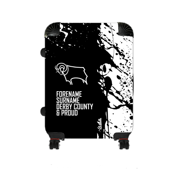 Derby County Proud Medium Suitcase