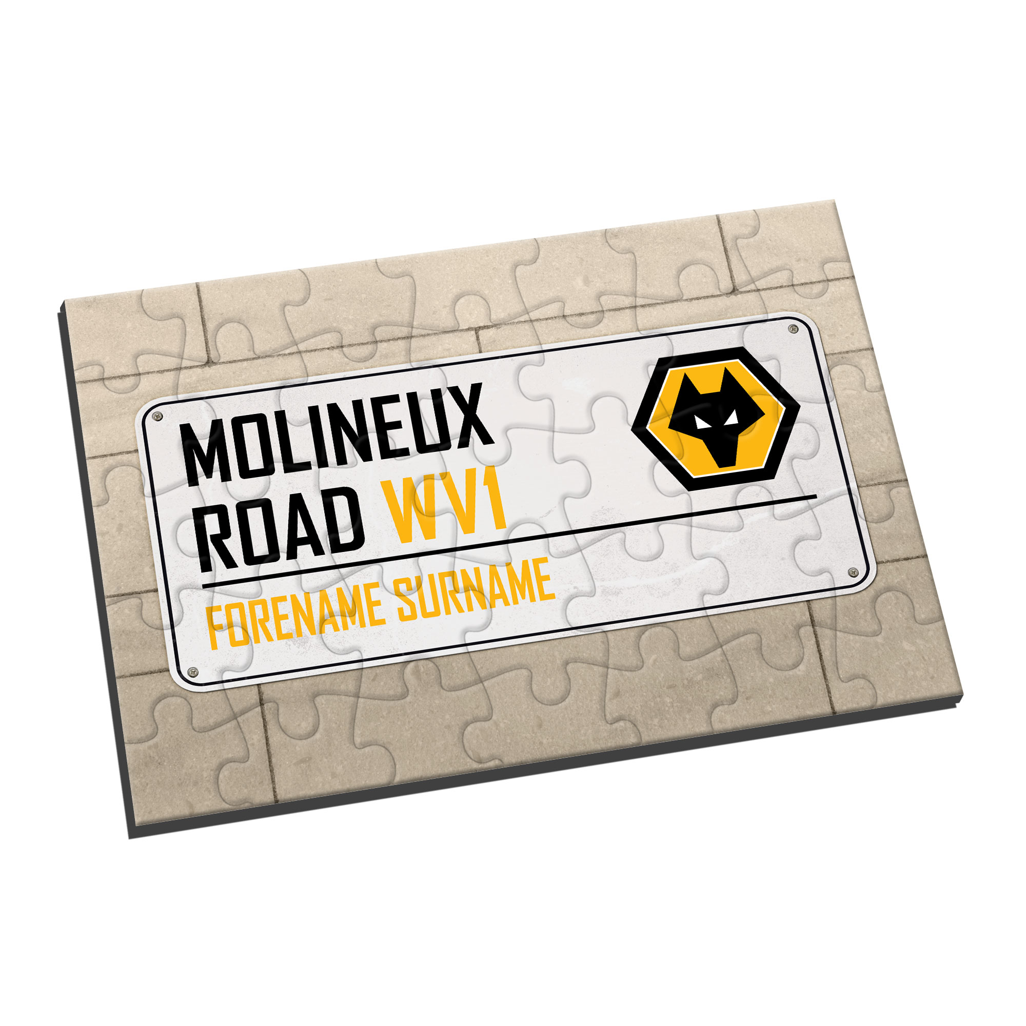 Wolves Street Sign Jigsaw