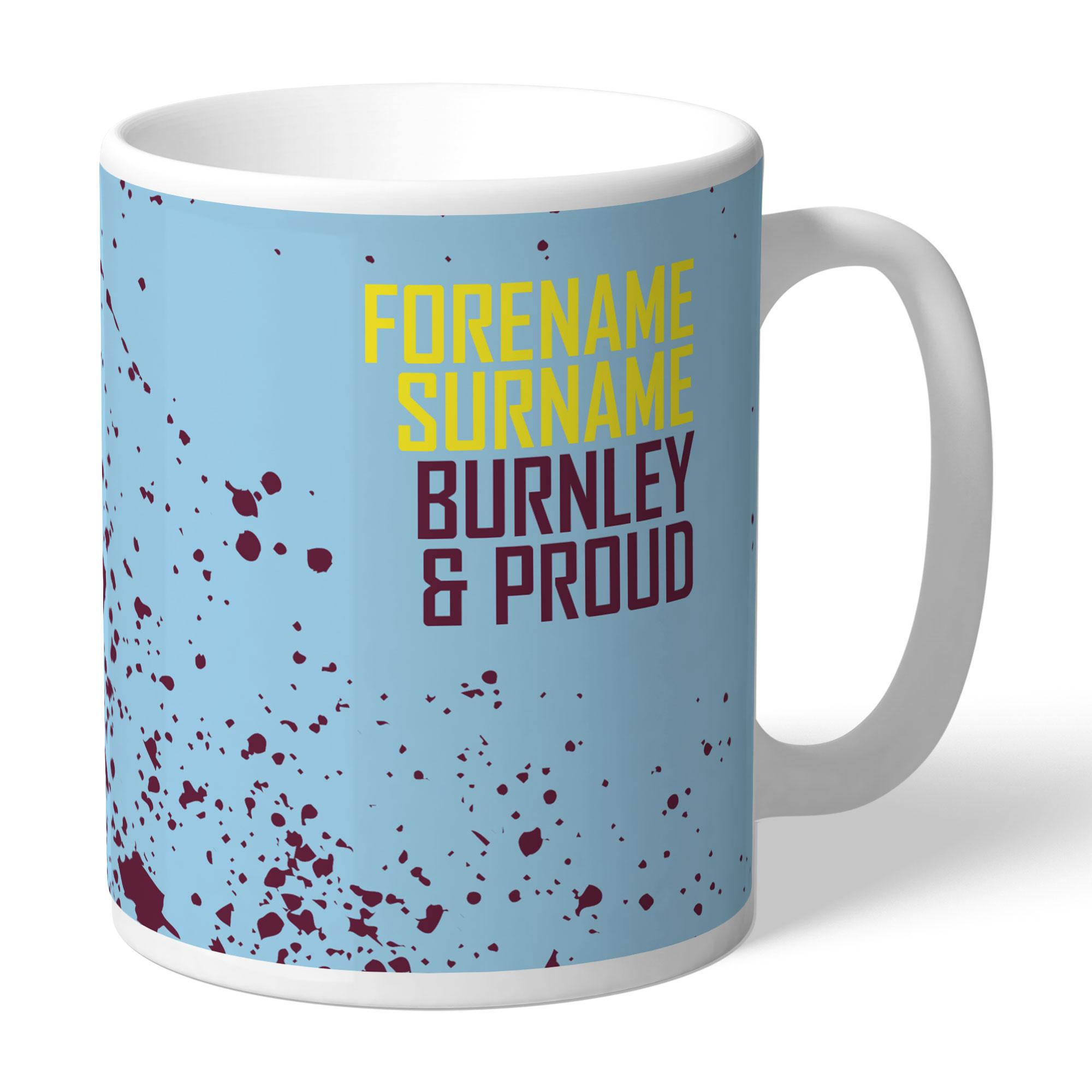 Burnley FC Proud Mug