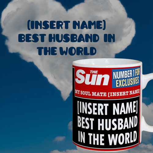The Sun Best Husband Mug