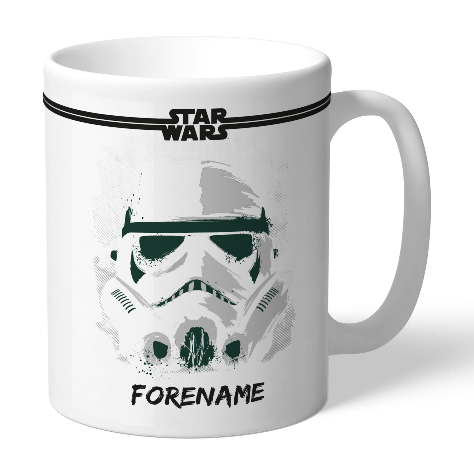 Star Wars Storm Trooper Paint Mug