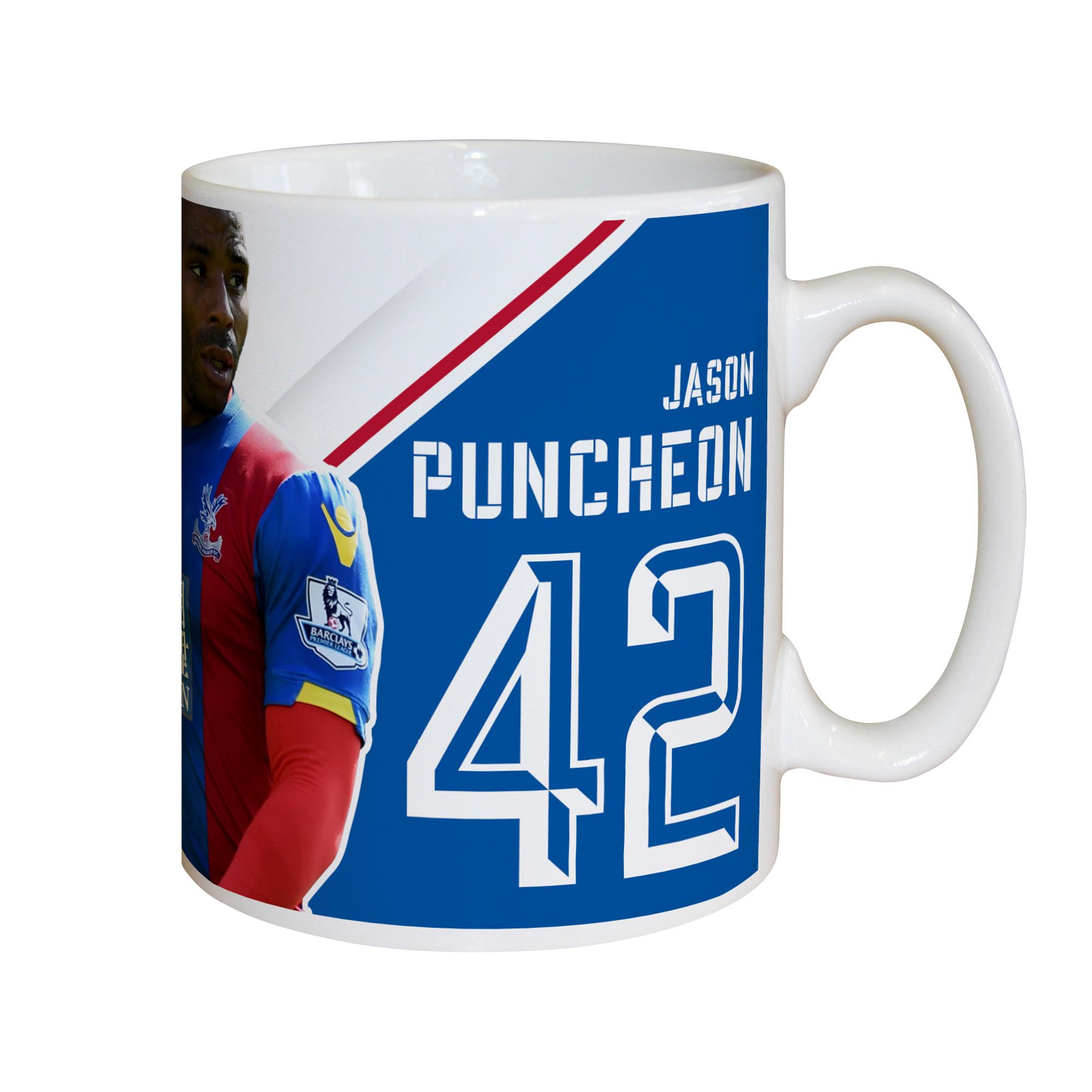 Crystal Palace FC Puncheon Autograph Mug