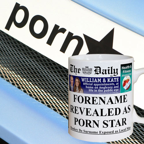 The Daily Male Pornstar Mug