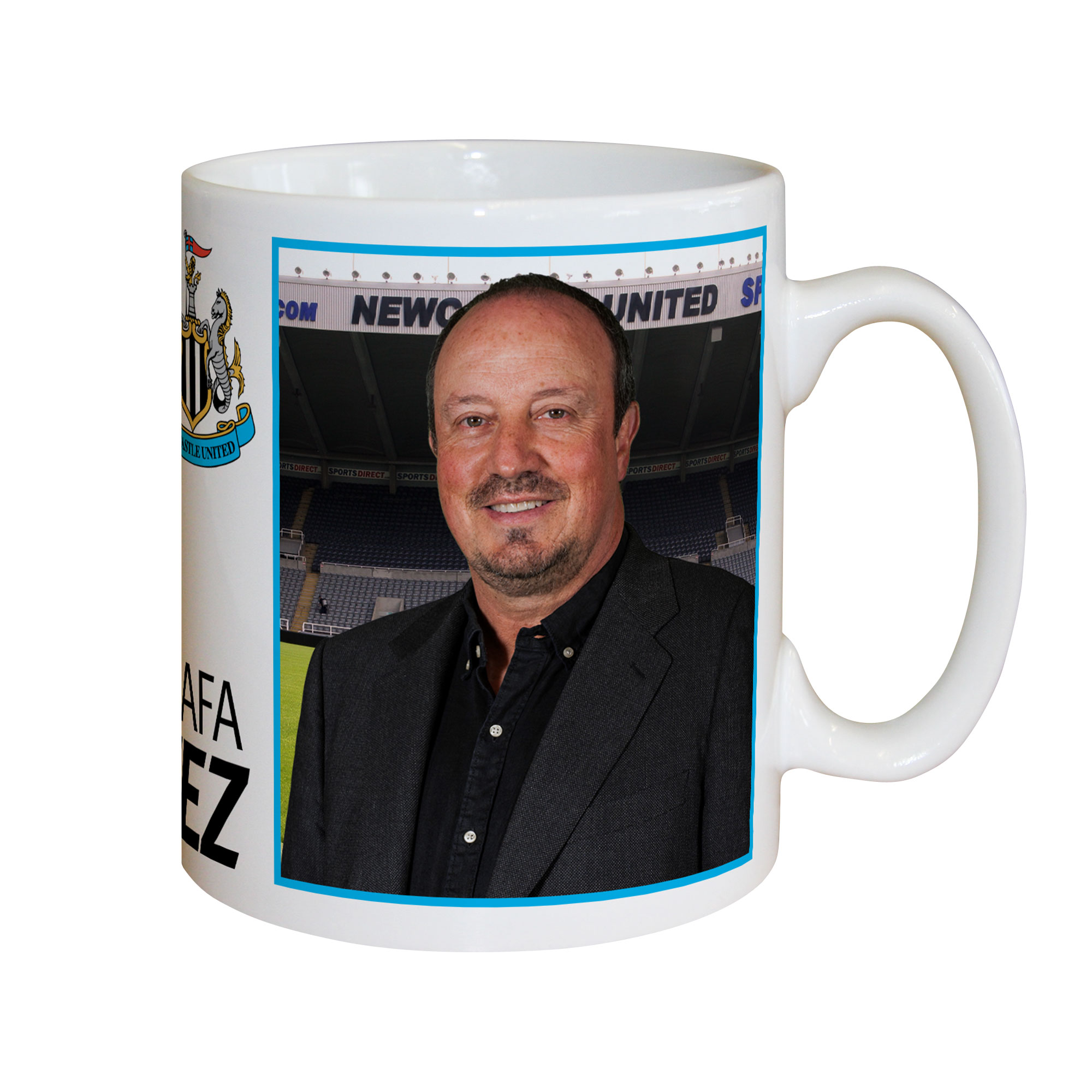 Newcastle United FC Benitez Autograph Mug