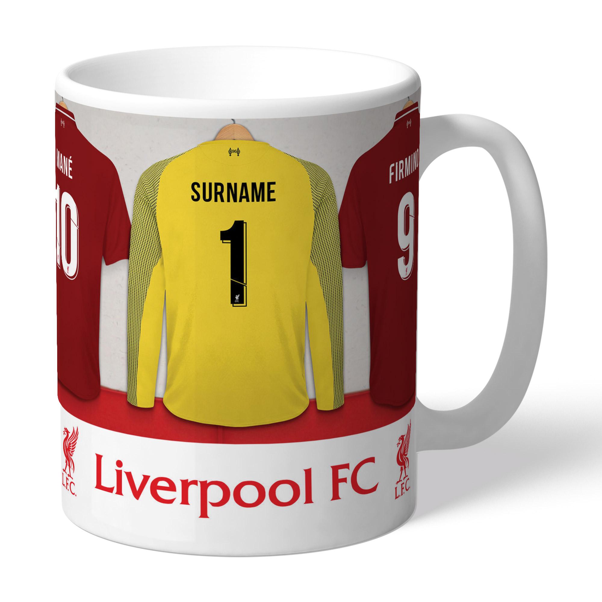 Liverpool FC Goalkeeper Dressing Room Mug