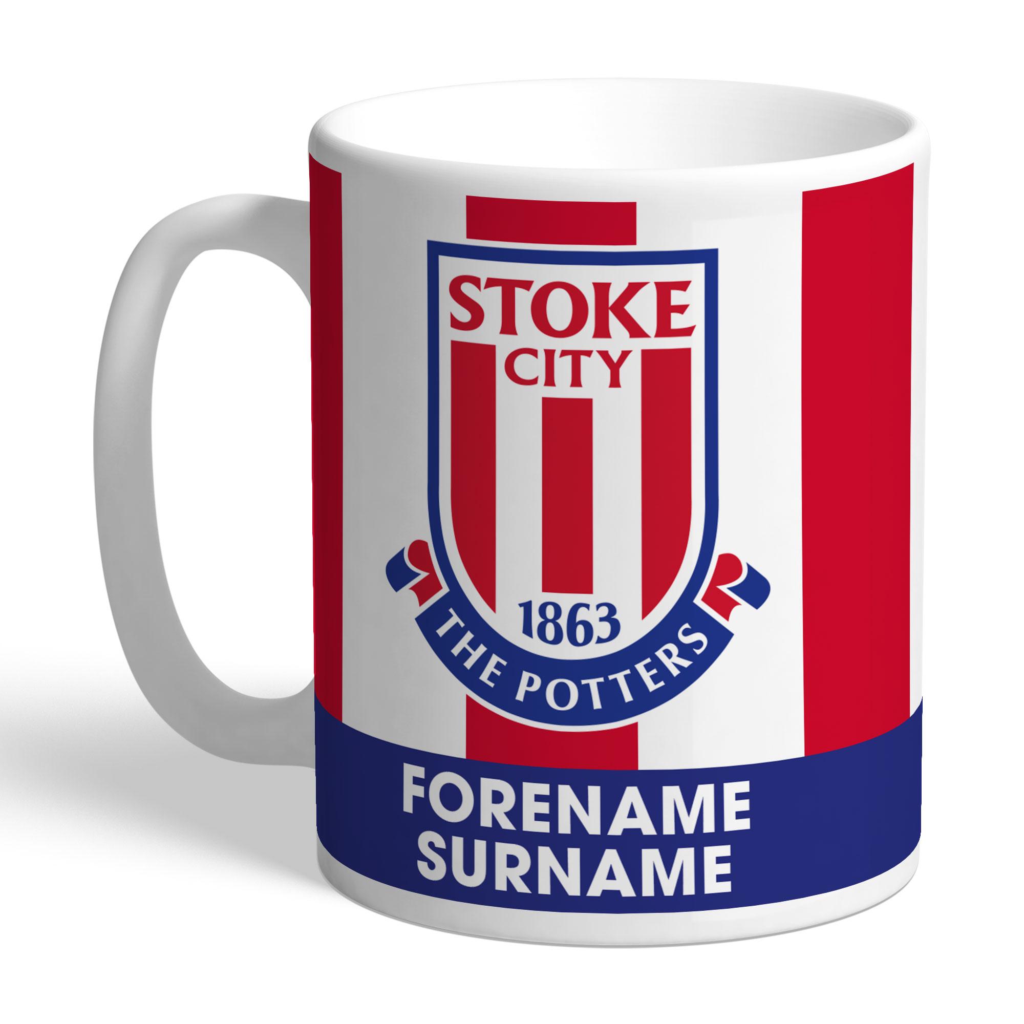 Stoke City FC Bold Crest Mug