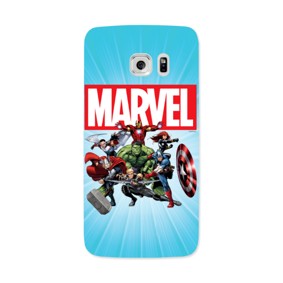 Marvel Avengers Group Samsung Galaxy 7 Edge