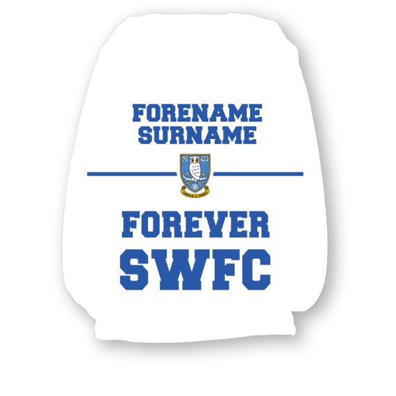 Sheffield Wednesday FC Forever Headrest Cover