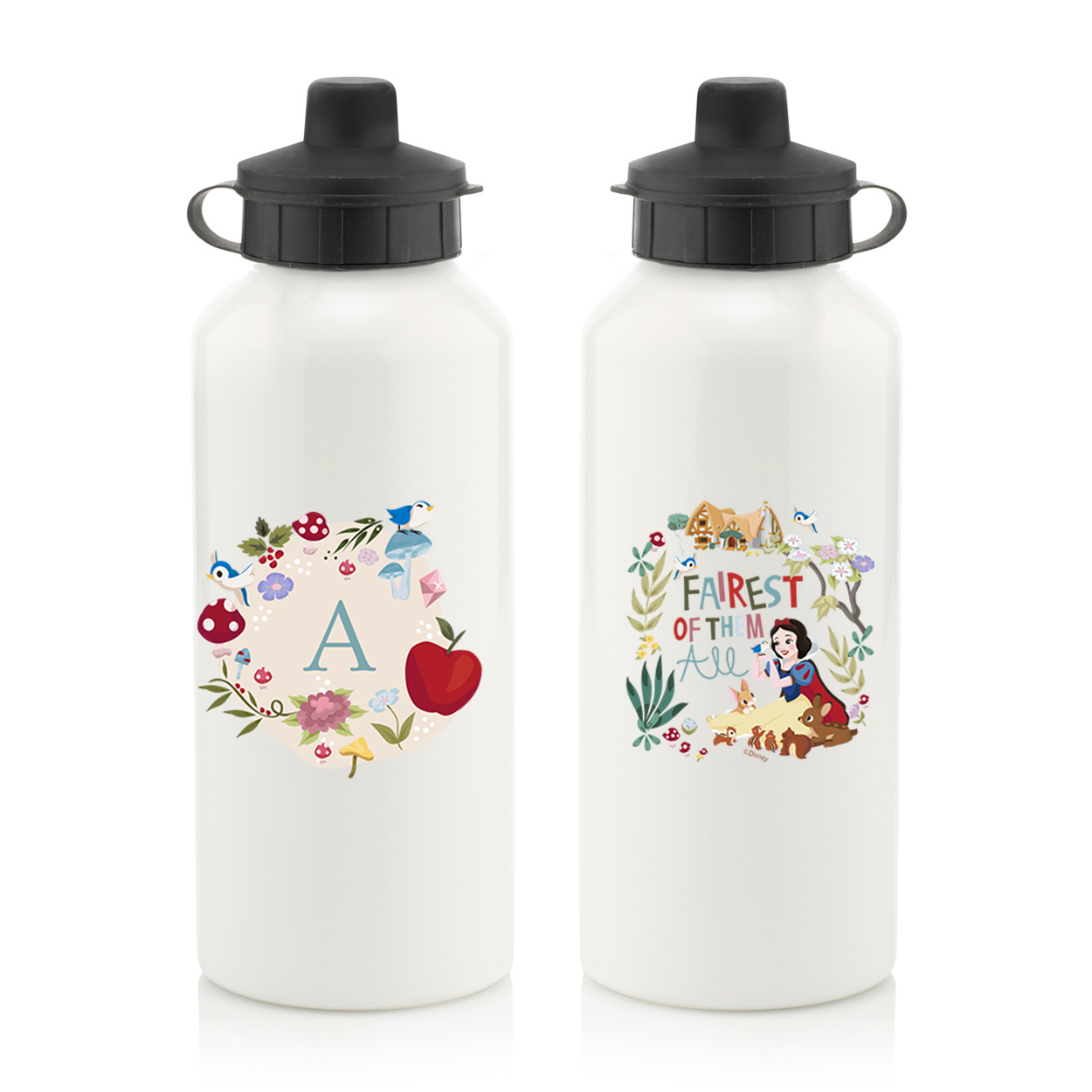 Disney Princess Snow White Initial Water Bottle